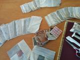 ログキャビンを縫い始めました