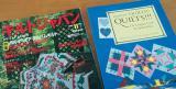 キルトジャパンとアメリカで買った本