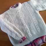 昔編んだセーター